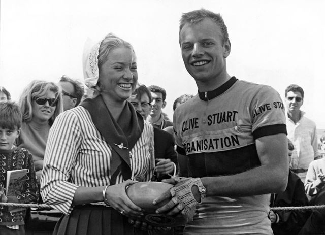 Winner of the Professional Tour of the Peak Cycle Race, Buxton, 1968