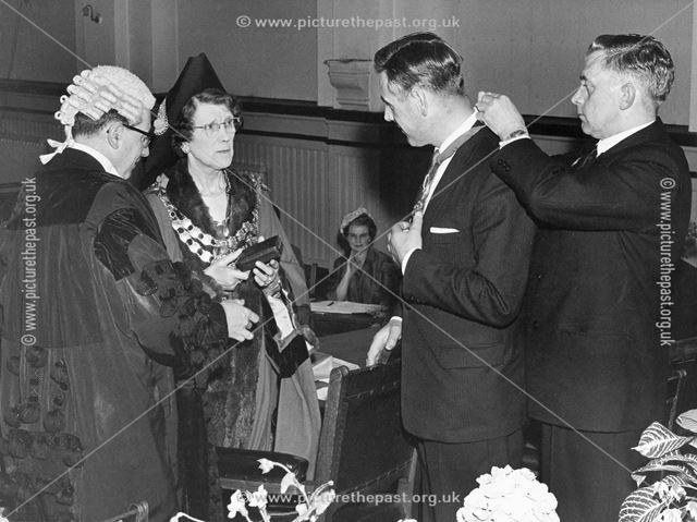 Mayor Making, Buxton Town Hall, Buxton, 1964