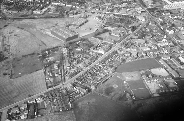 Aerial view of Woodville