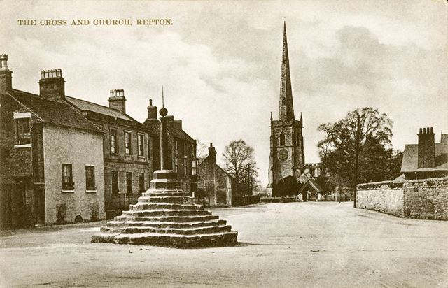 The Cross and Church in Repton