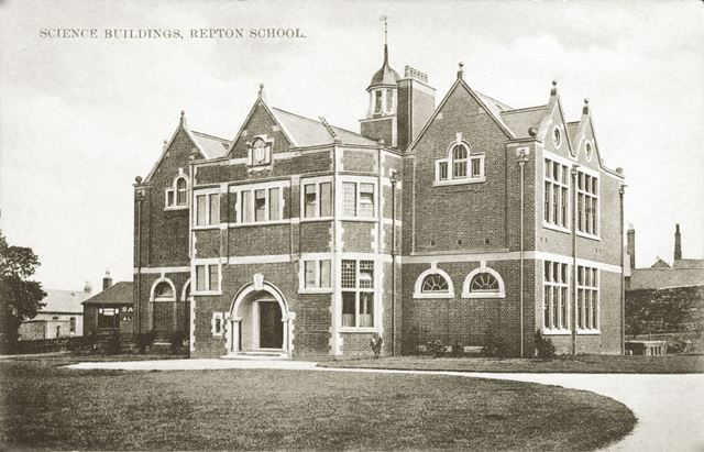 Science Buildings, Repton School
