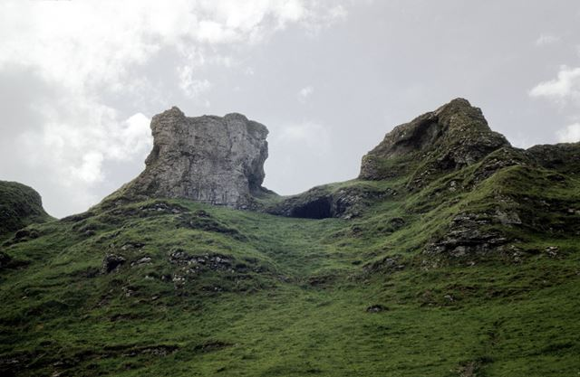 The Winnats Pass, Castleton
