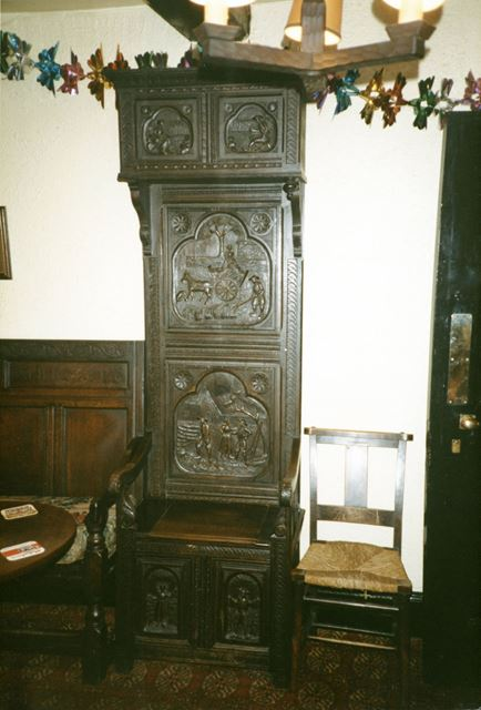 Commode situated in Smith's tavern