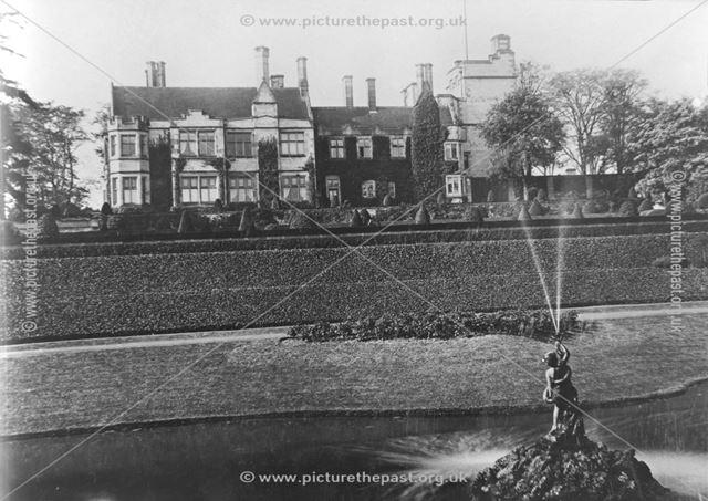 Thornbridge Hall - East view