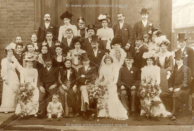 A wedding group at Killamarsh