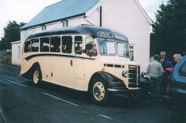 Former Booth and Fisher bus in Killamarsh