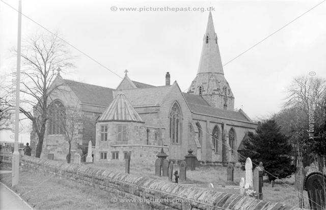 St Mary and St Lawrence's Parish Church, Bolsover