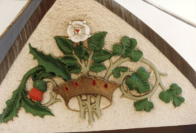 The Rose and Crown public house - motif