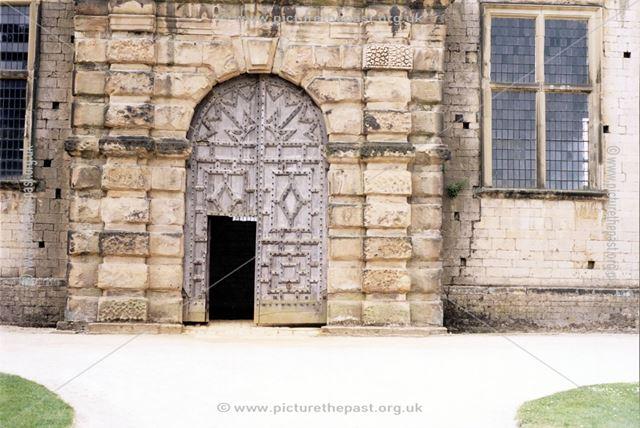 Bolsover Castle - Entrance to the Riding House