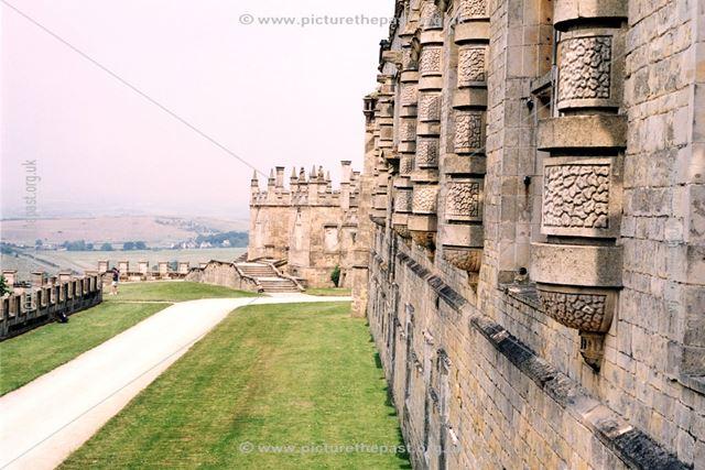 Bolsover Castle - Exterior and terraces