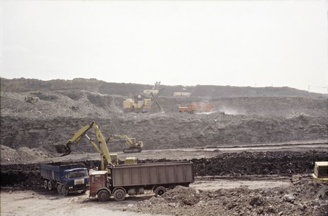 Meadow Gate Opencast Mining site
