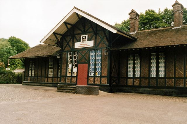 Old Railway Station building