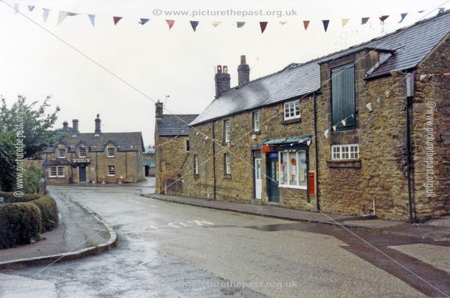 Streetscene, Pilsley, 1987