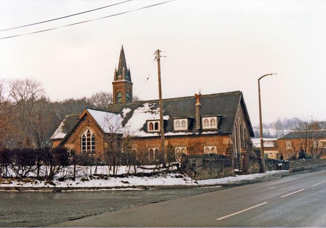 The Old School House, Coach Road, Golden Valley, 1987