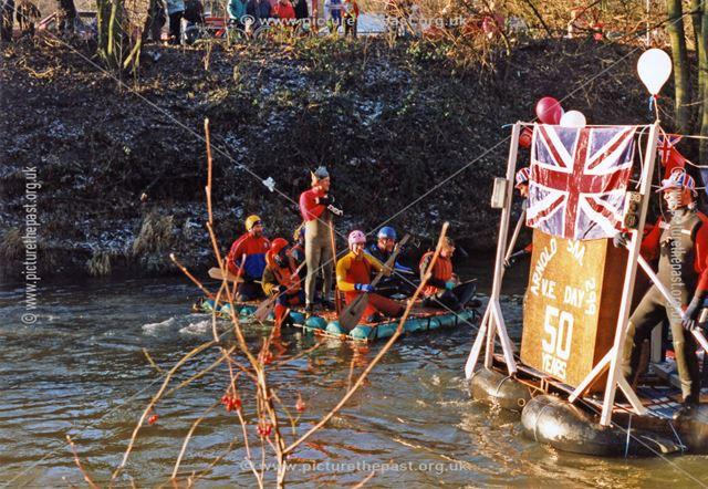 VE Day raft