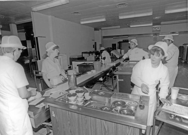 Kitchens at the City Hospital, Derby