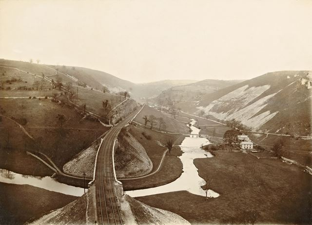 Overhead view of Railway and Valley