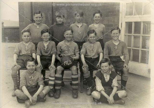 Heath School Football Team, 1948