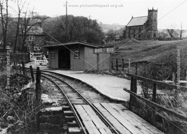 Ashover Butts Station, on the Ashover Light Railway.