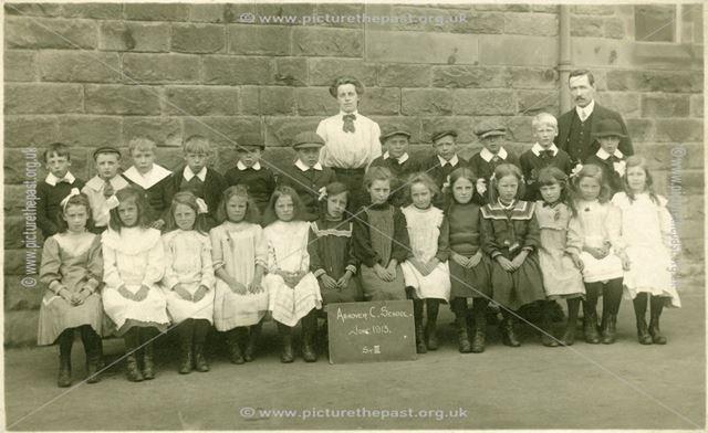 Ashover C School, June 1913