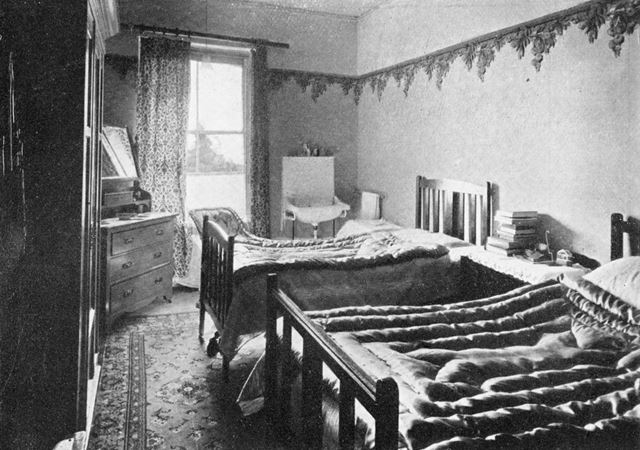 Ashover Hydro - Bedroom on First Floor