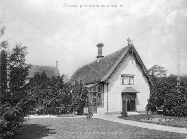 Adam Bede's Cottage, Ellastone, Staffordshire, late 19th century