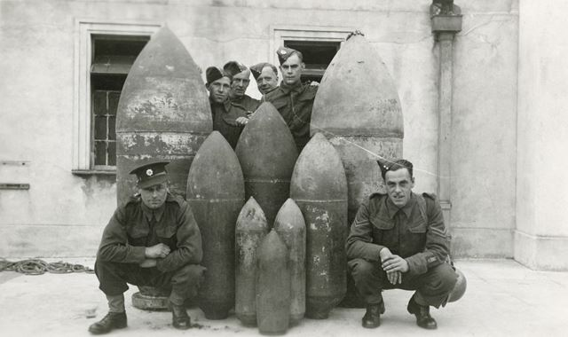 Royal Engineers Bomb Disposal Squad, London, 1940s