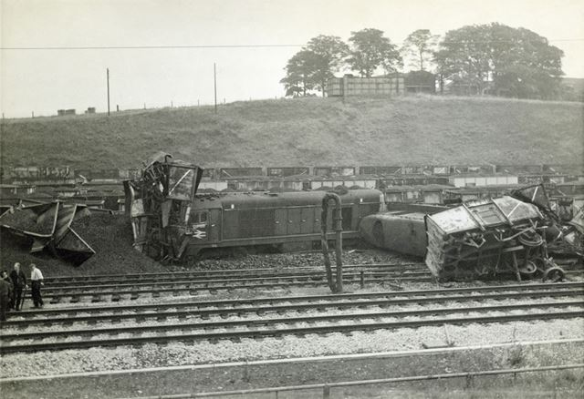 Railway Accident at Westhouses, September 1968