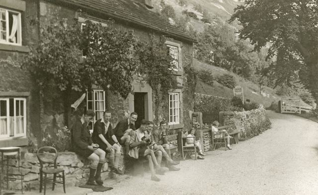 A Guest House in Monsal Dale, 1940