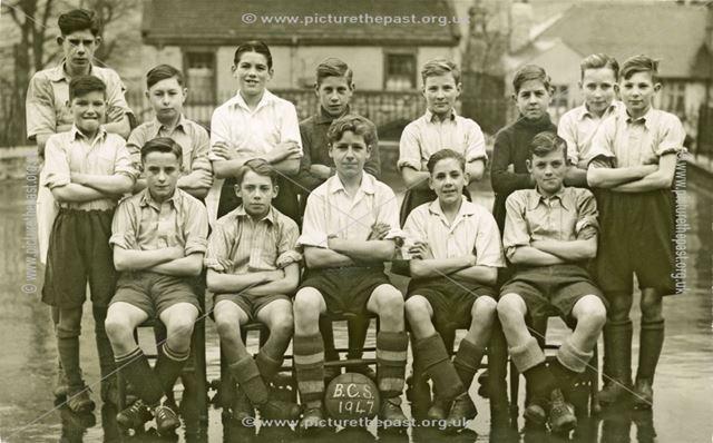 Bradwell County School Football Team, 1947.