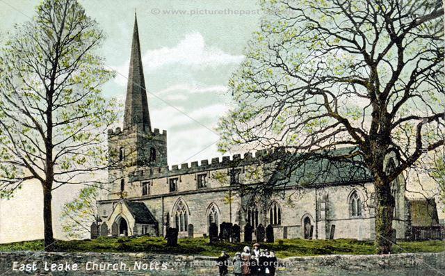 St Mary's Church, East Leake, c 1913