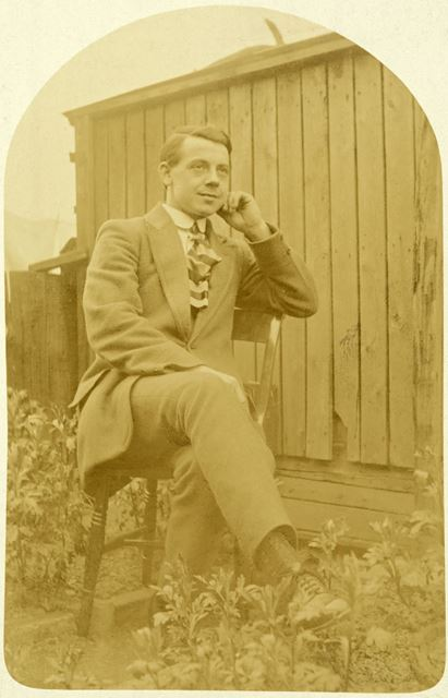 Henry 'Harry' Haston, Conscientious Objector, WWI