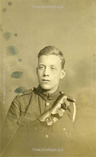 Martin Gallon, under-aged soldier WWI, Nottingham