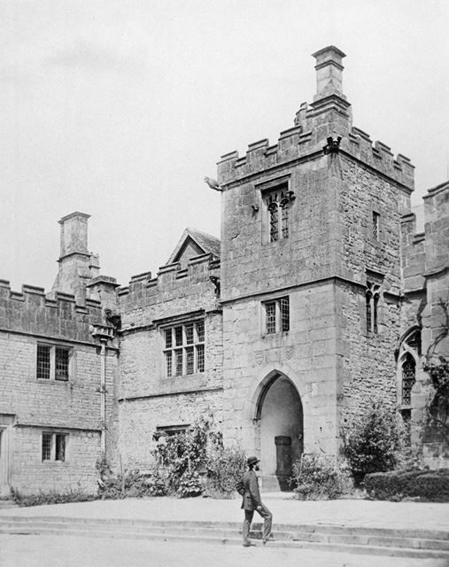 Peveril Tower, Haddon Hall, Bakewell, c 1876