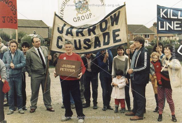 Jarrow petition for Jobs, Eckington, 1986