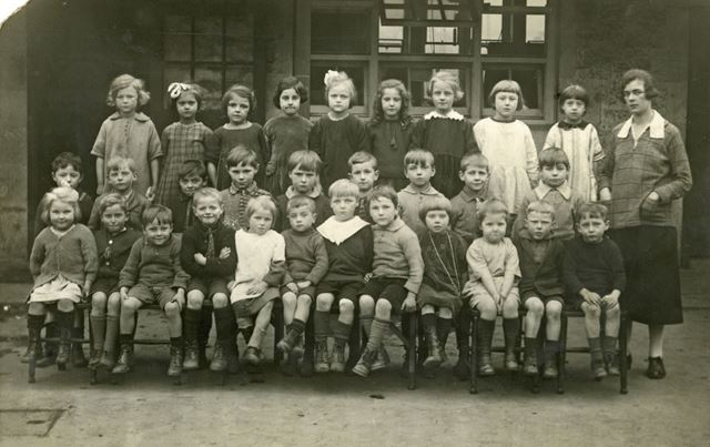 Curbar Infants School, 1925