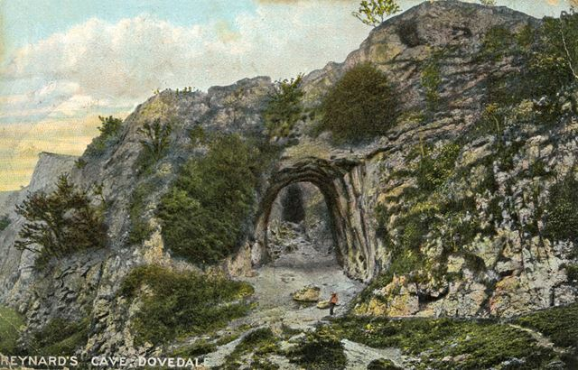 Reynard's Cave, Dovedale, c 1930s