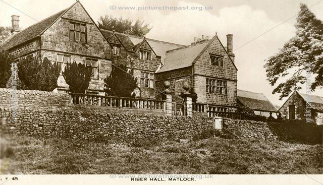 Riber Hall, c 1930s