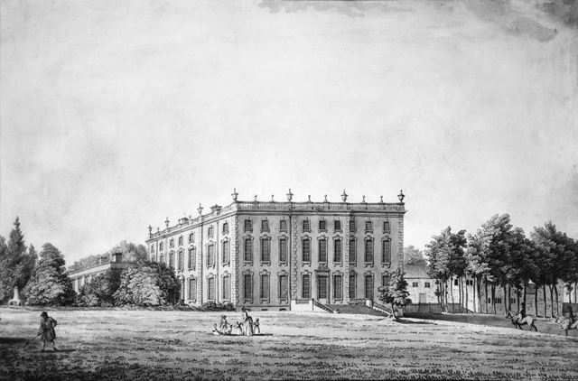 Wingerworth Hall, Off Hockley lane, near Hanging Banks, Wingerworth, 1783