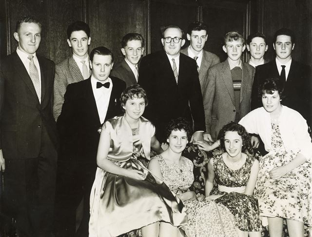 Ashover Young Farmers' Dance, County Hotel, Saltergate, Chesterfield, 1950s