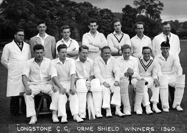 Great Longstone Cricket Team, The Recreation Ground, Great Longstone, 1960