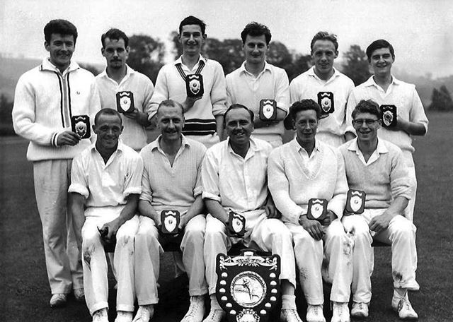 Great Longstone Cricket Team, The Recreation Ground, Great Longstone, 1963