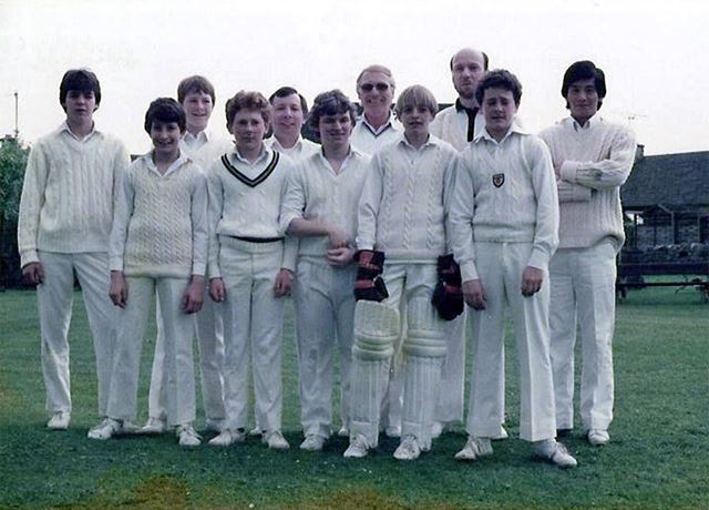Great Longstone 2nd Cricket Team, The Recreation Ground, Great Longstone, 1982