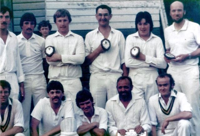 Great Longstone Cricket Team, The Recreation Ground, Great Longstone, 1983