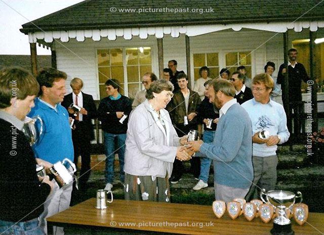Great Longstone Cricket Team, The Recreation Ground, Great Longstone, 1985