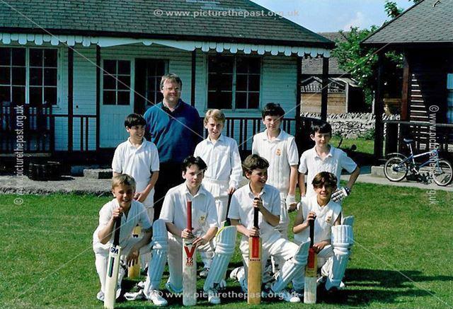 Great Longstone Junior Cricket Team, The Recreation Ground, Great Longstone, 1988