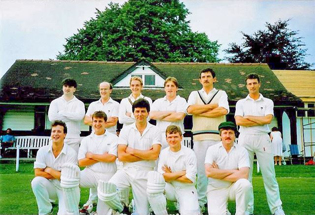 Great Longstone Cricket Team, The Recreation Ground, Great Longstone, 1990