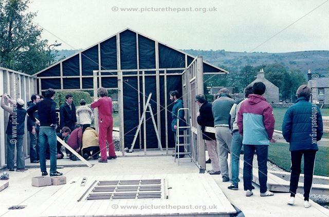 Great Longstone Cricket Club, The Recreation Ground, Great Longstone, 1984