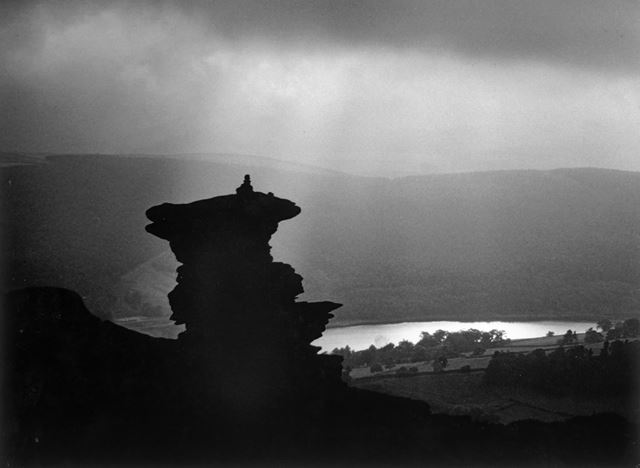 'Moorland Mood', Salt Cellar on Derwent Edge, c 1991