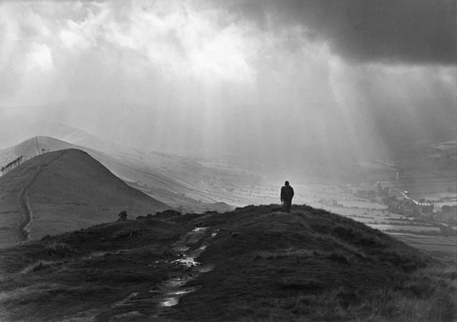 'The Guy Who Came into The Cold', Back Tor, Edale, c 1980